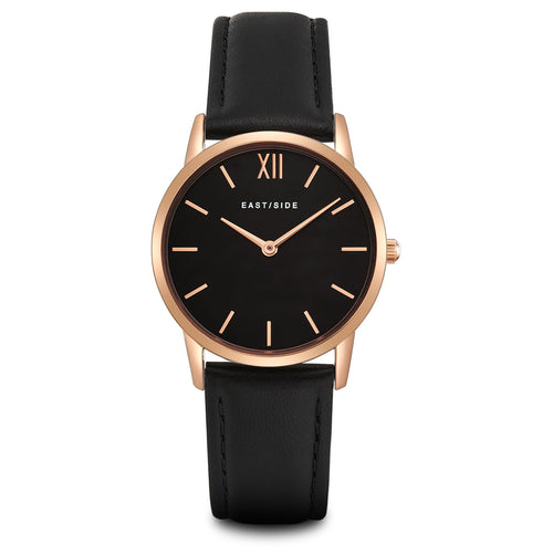 Upper Union Lady Watch black roségold