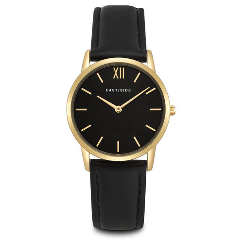 Upper Union Lady Watch black yellow gold