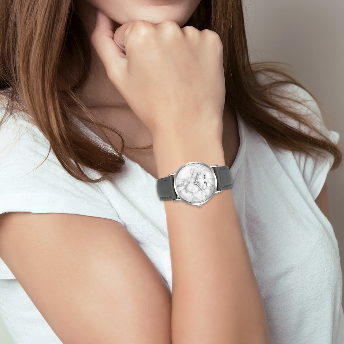 Rosevelt Lady Watch grey silver