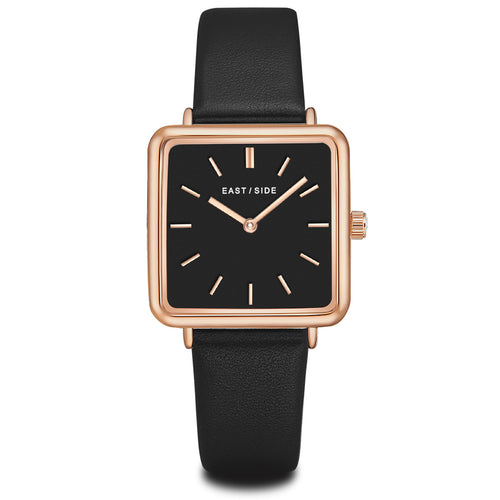 Grand Lady Watch black rosé gold