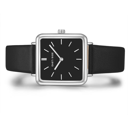 Grand Lady Watch black silver