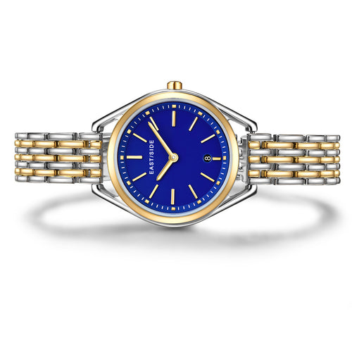 Edison Lady Watch silver/yellow gold silver