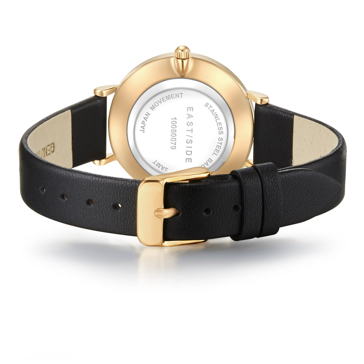 Pranera Lady Watch black yellow gold