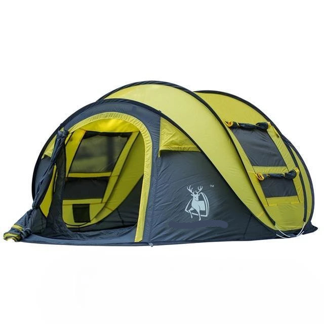 POP UP WaterProof Large Family Camping Throw Tent