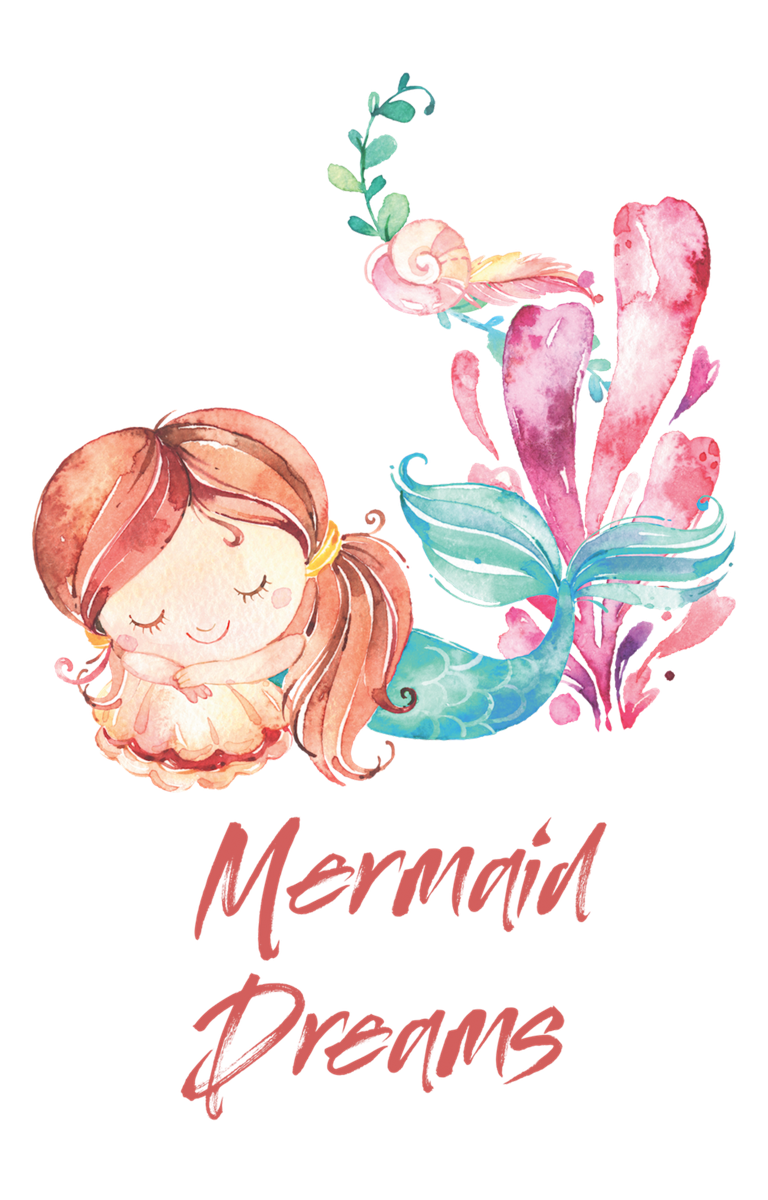 'Mermaid Dreams' Sleepy Mermaid