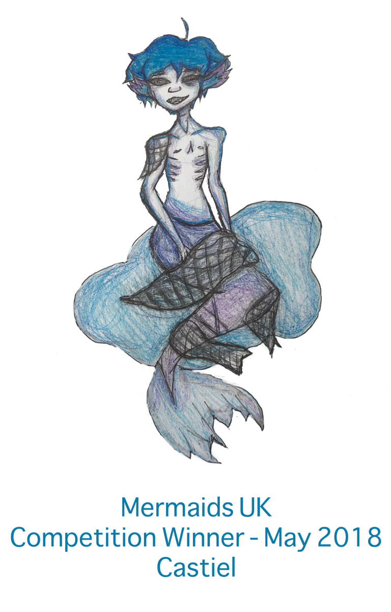 Mermaids UK Competition Winner - May 2018 Castiel