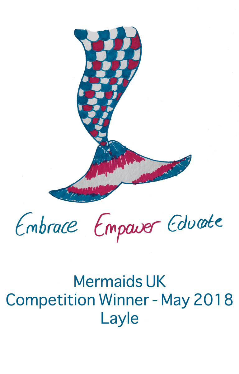 Mermaids UK Competition Winner - May 2018 Layle