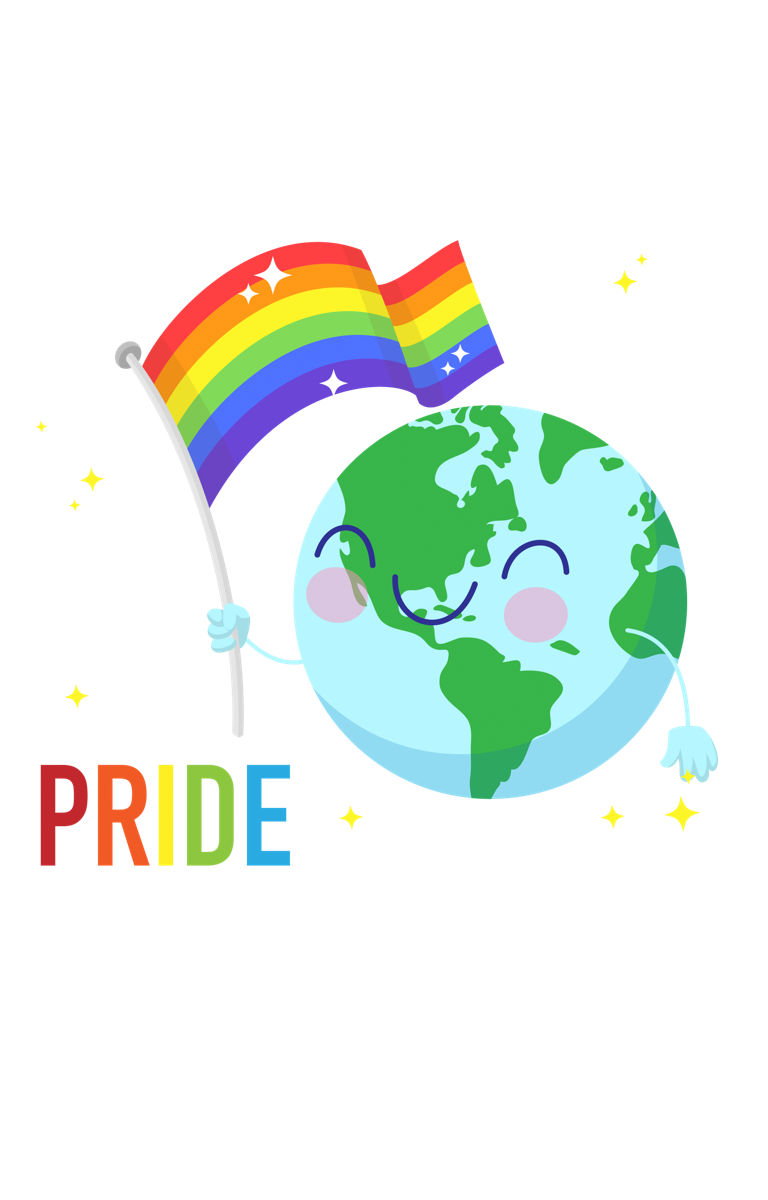 'World Pride' Smiley Earth