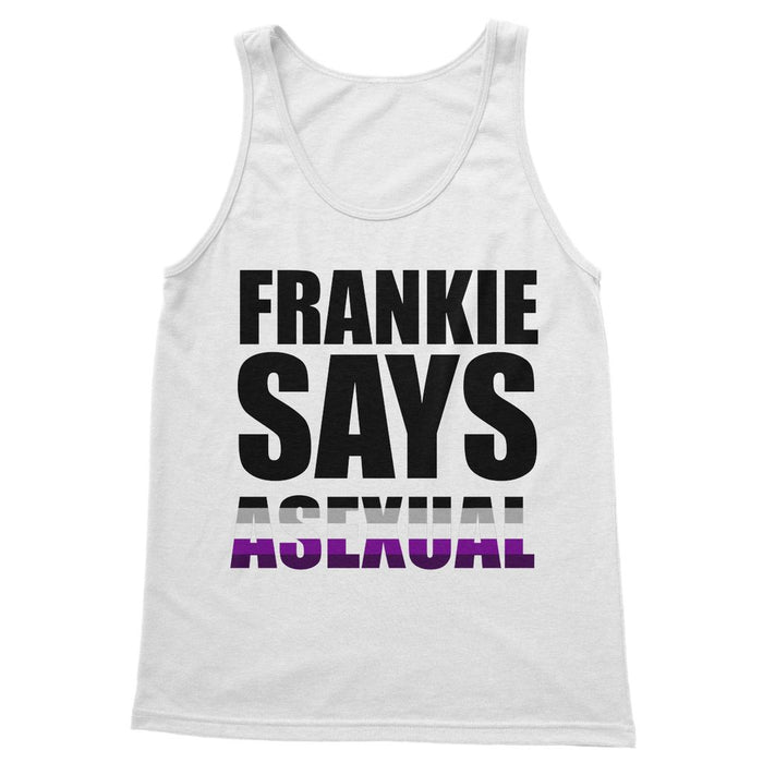 FRANKIE SAYS 'ASEXUAL' Softstyle Tank Top