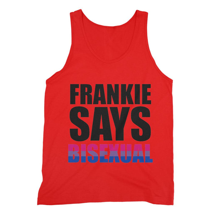 FRANKIE SAYS 'BISEXUAL' Fine Jersey Tank Top