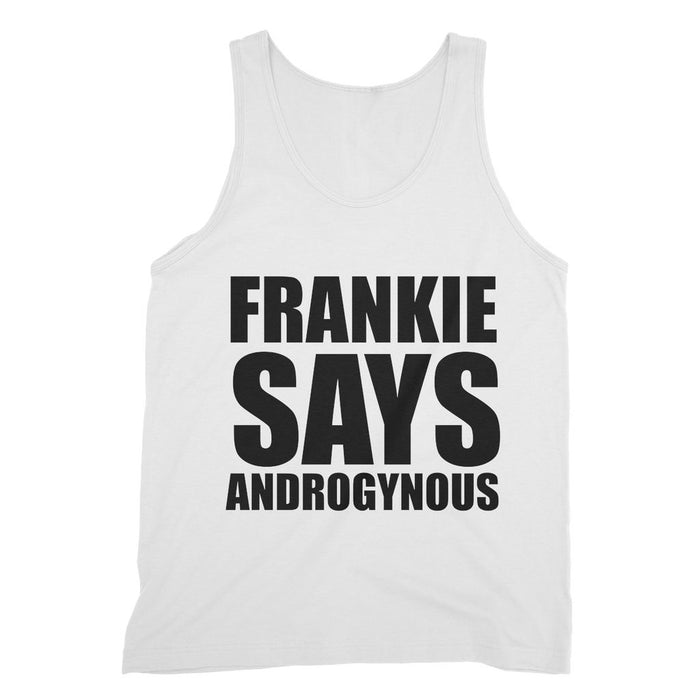 FRANKIE SAYS 'ANDROGYNOUS'' Fine Jersey Tank Top