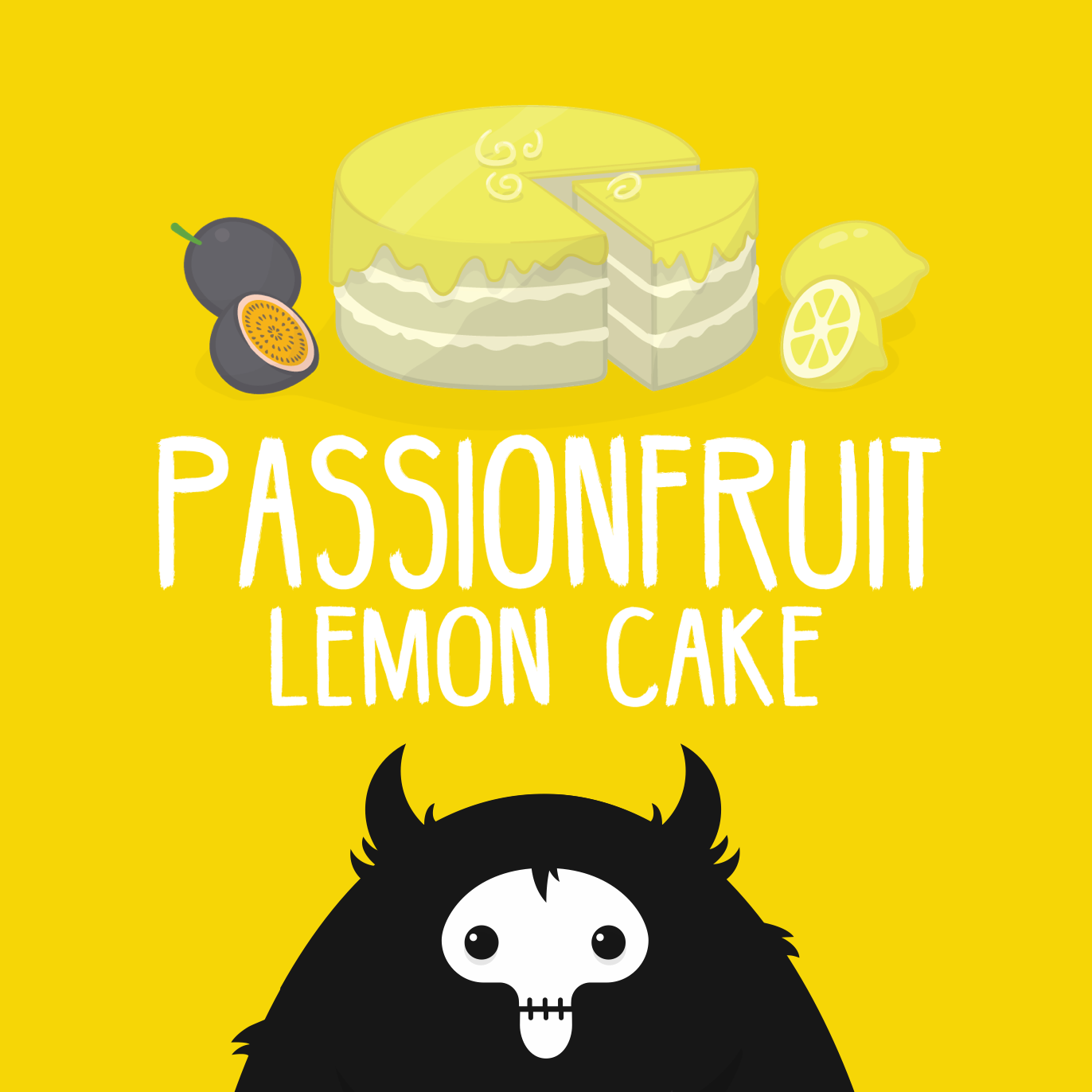Passionfruit Lemon Cake - eJuice