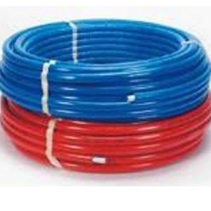 Tube multicouche en couronne 16x2-50m- isole PU 6mm - rouge
