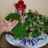 Fairy garden House set Miniature sitting Figurines Kit Accessories Gnome Mood Lab
