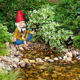 Garden Gnome House Zen finger gnome Fairy set Miniature Figurines Kit Accessories Mood Lab