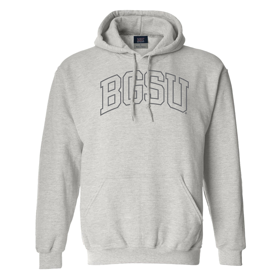 MV BGSU Comfort Fleece Hood Marble Heather