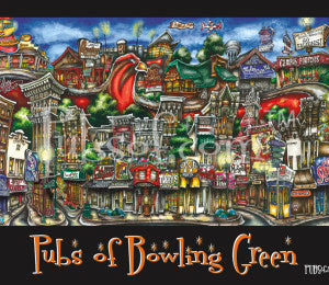 Pubs of Bowling Green Print 18