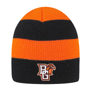 Logofit Columbia Rugby Striped Knit Beanie