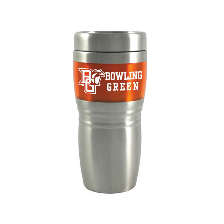 RFSJ 16oz Steel City Orange Travel Tumbler