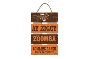 Legacy Ay Ziggy Zoomba Ladder Pallet Sign 15.5X10