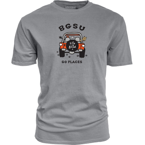 Blue 84 BGSU Life is Good Go Places SS Tee