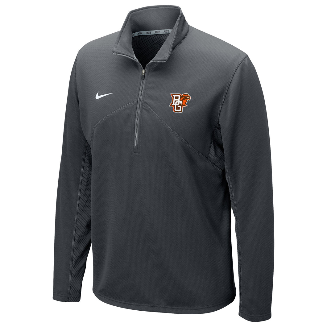 Nike Grey Drifit Training 1/4 Zip