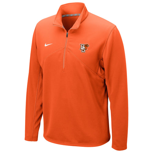 Nike Orange Drifit Training 1/4 Zip
