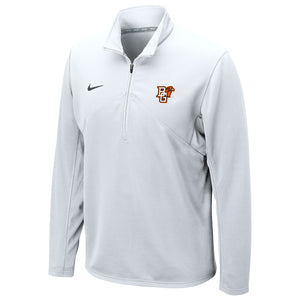 Nike White Drifit Training 1/4 Zip