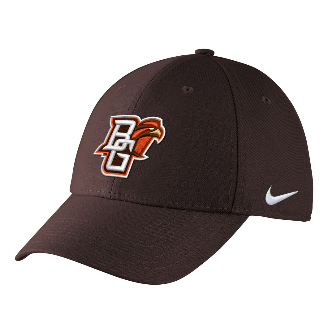 Nike Swoosh Flex Brown Hat