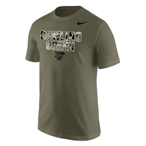 Nike Cotton Bowling Green SS Tee Olive