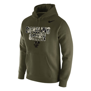 Nike Club Fleece Hood Olive