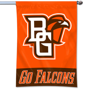 "University Flag 40"" x 28"" Home Banner with Go Falcons"