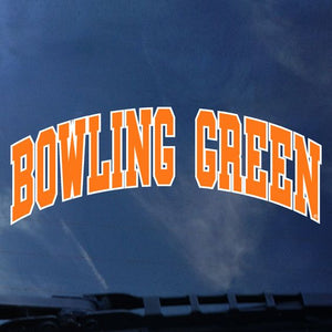 Bowling Green Arched Decal