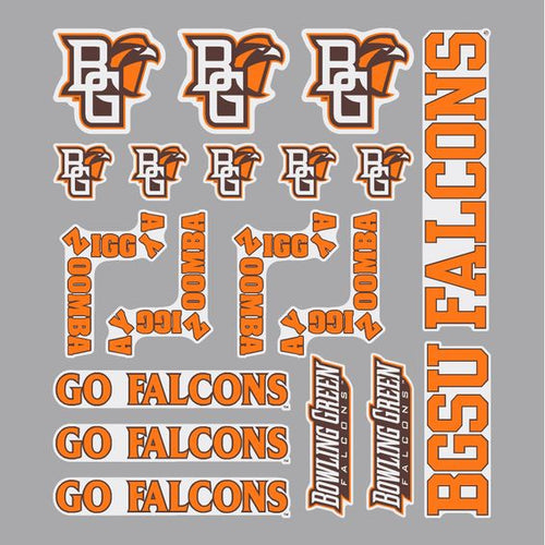 Assorted BGSU Falcon Stickers