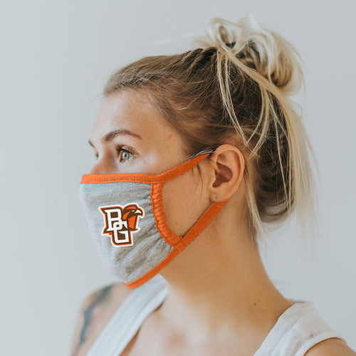 Blue 84 Face Mask Heather Grey