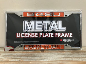 BGSU Basketball License Plate Frame