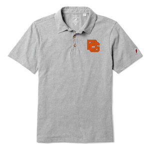 League Men's Polo Ash