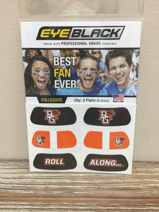 Eye Black 3 Pair Face Tattoos