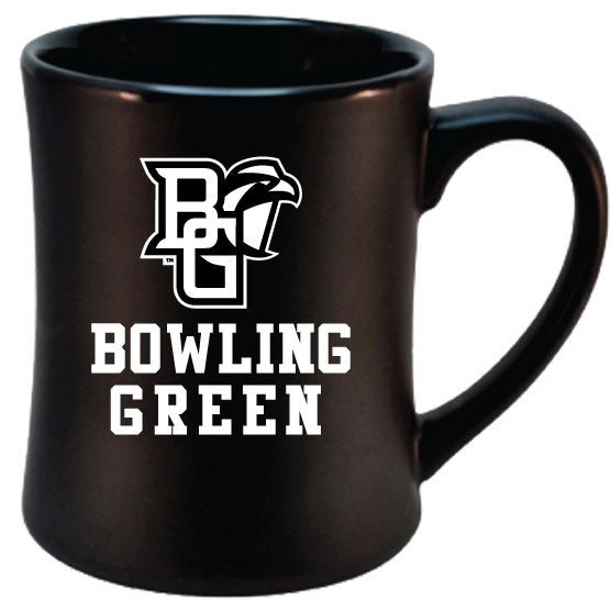 RFSJ 16oz Black Etched MK Matte Mug