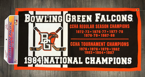 BGSU Falcon Hockey National Champs 18X36