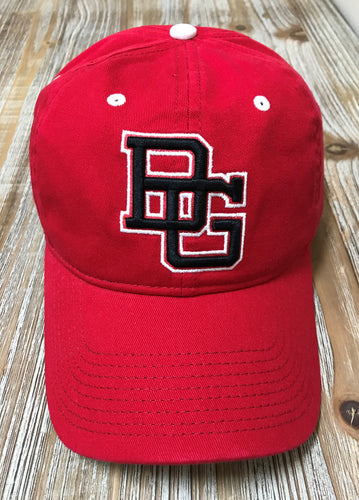 Game Adjustable Hat Bobcats Red G19