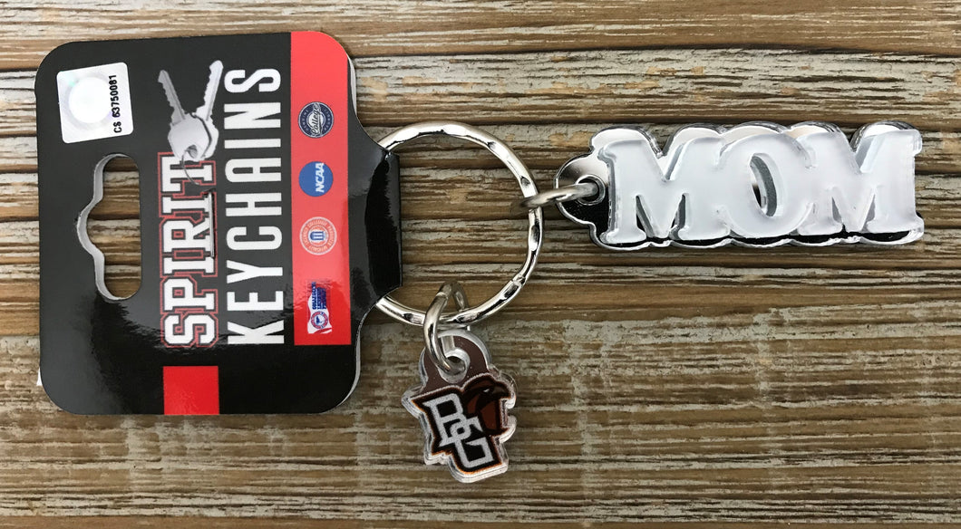 BGSU Mom Acrylic Key Chain