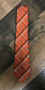 Jardine Orange Cross Tie
