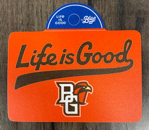 Blue 84 Life is Good Tail Sticker