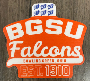 Blue 84 BGSU Falcons Sticker