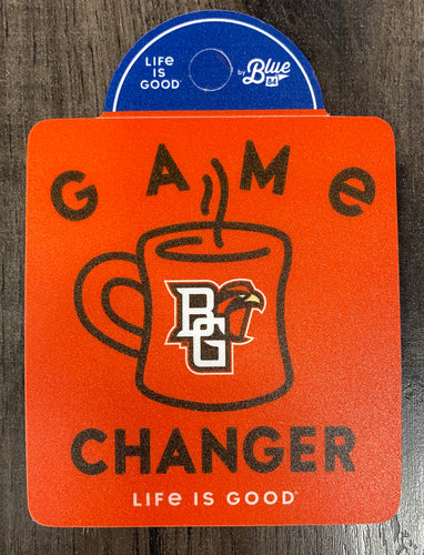 Blue 84 Life is Good Game Changer Sticker
