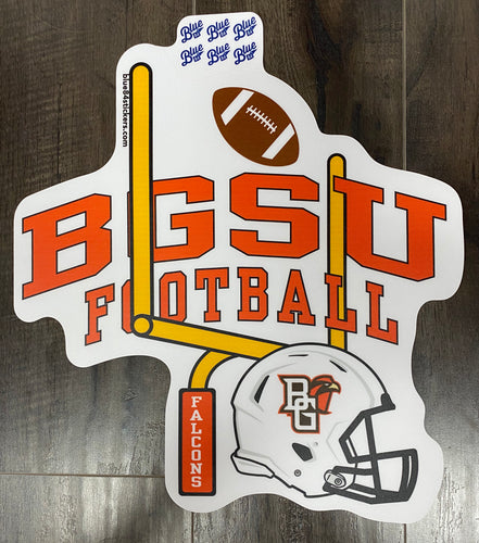 Blue 84 BGSU Football XL Sticker