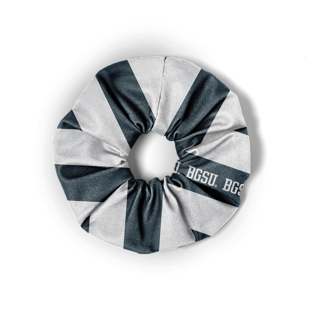 League Grey and White Spirit Scrunchie