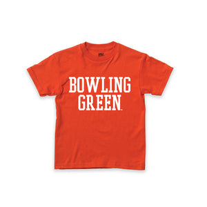 MV Youth Bowling Green Tee with White Imprint
