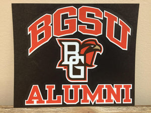BGSU Alumni Decal 6X6